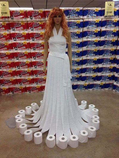 2020 Toilet Paper Queen