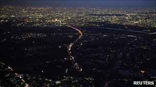Tokyo 3-hr. rolling blackouts