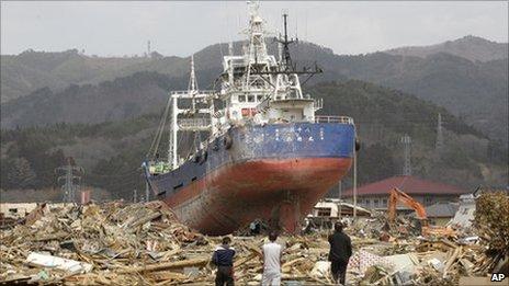 Ishinomaki tsunami debris