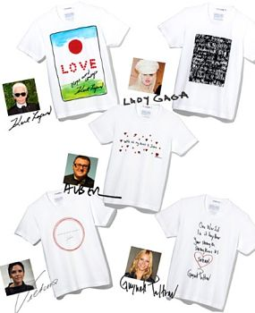 Uniqlo's celebrity designed T-shirts