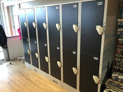 Unjokaku coin lockers