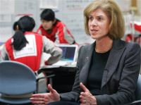 Gail McGovern, American Red Cross CEO and president