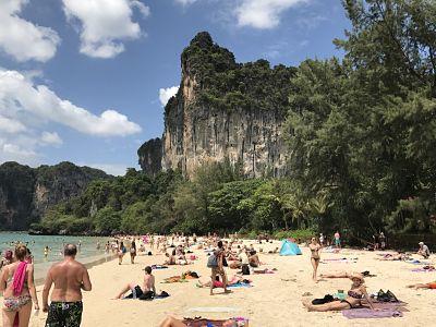 West Railay Beach, Ao Nang, Thailand