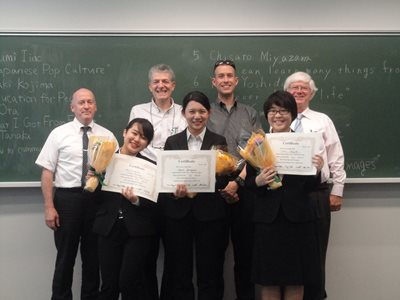 2015.5.24 Meiji speech contest 1
