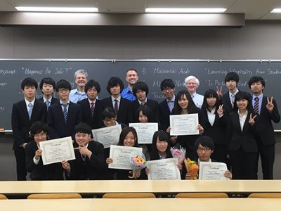 2016.5.22 Meiji speech contest 1