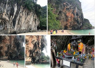 Ao Nang, Thailand photo collage