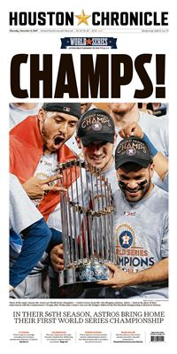 Houston Astros World Series Champs