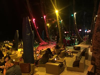 Boracay beachside restaurant & bar