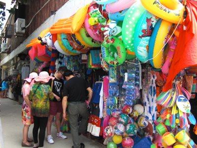 Boracay D'Mall shopping stall