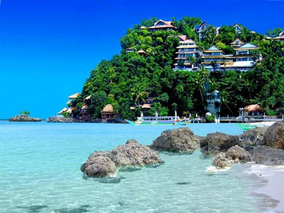 Boracay's Diniwid Beach