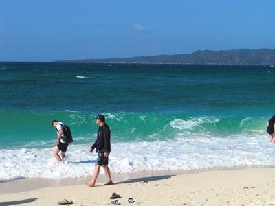Boracay's Puka Shell Beach