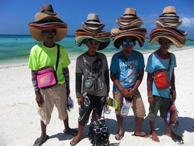 Boracay White Beach vendors
