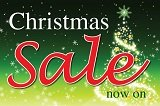 Christmas Sale now on