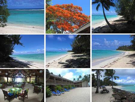 Cook Islands collage
