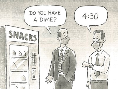Do you have a dime?