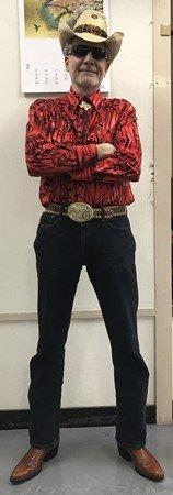 Cowboy Bob's Feb. 5, 2017 New Year party