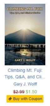 Mt. Fuji book half-price sale