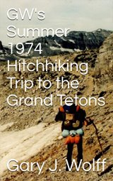 Summer 1974 hitchhiking trip ebook cover