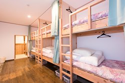 Hostel Mt. Fuji bunk beds