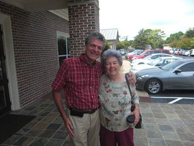 Houston trip - Gary & Mom