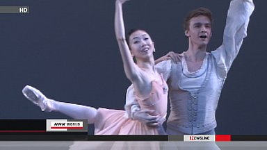 Japanese dancers in NY give charity performance