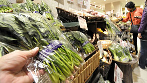 Japan eases restrictions on milk, spinach