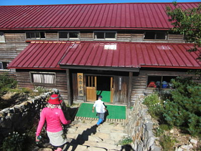 Jonen-goya mountain hut