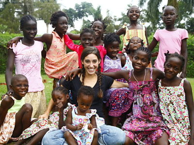Katie Davis in Uganda