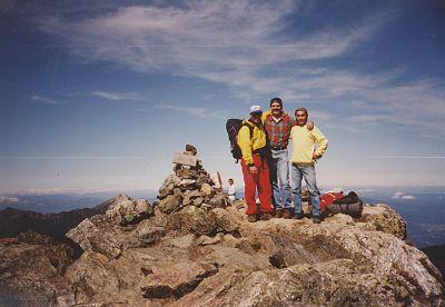 Atop Mt. Kita-dake