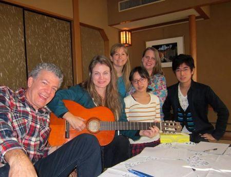 Kristin's songwriting workshop