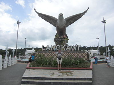 Langkawi Eagle at Eagle Square in Kuah Town