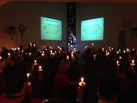 Xmas Eve Candlelight Worship Service
