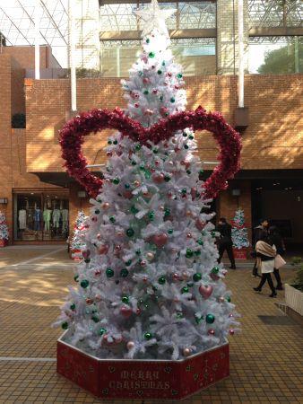 Xmas tree with heart