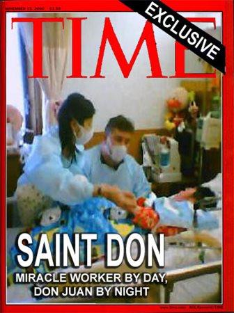 Miracle worker Saint Don Davis