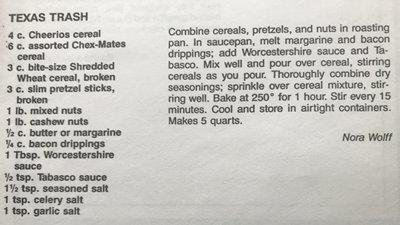 Mom's Texas Trash recipe