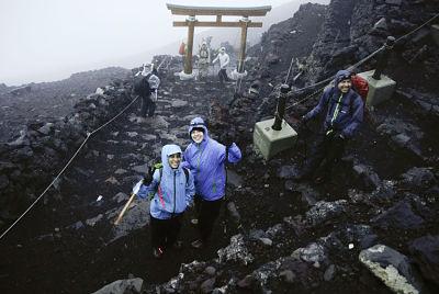 Mt. Fuji 2021 opening day