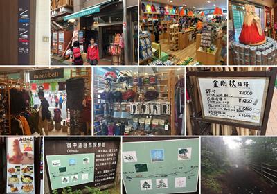 Mt. Fuji 5th Station collage