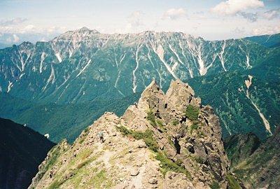 Mt. Kasagatake in distance