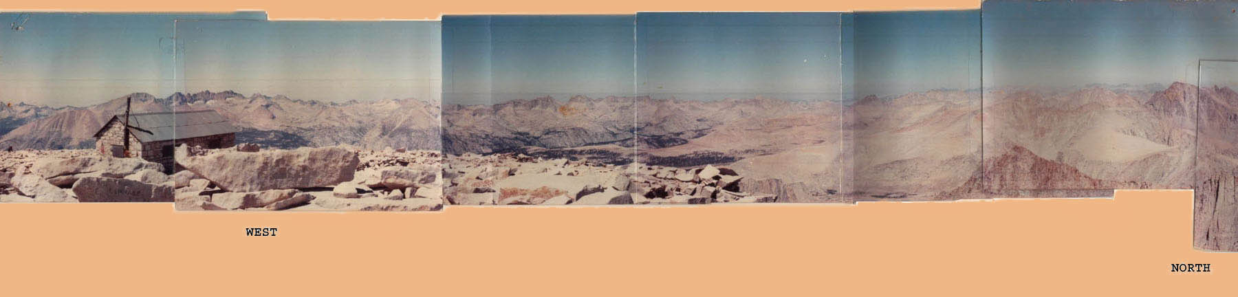 360-degree Panorama from Summit of Mt. Whitney