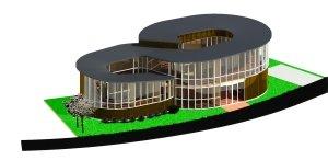 New Gyotoku Bird Observatory Building