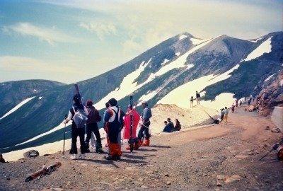 Mt. Norikura-dake service road