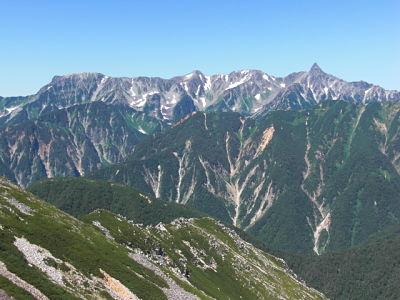 Mt. Oku-hotaka-dake & Mt. Yari-ga-take