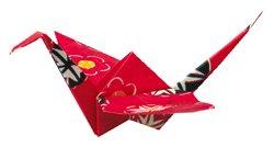 Peace Cranes soar above Japan