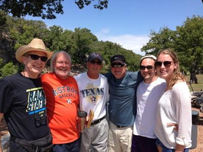 longtime pals reconnecting on the Windlinger Ranch