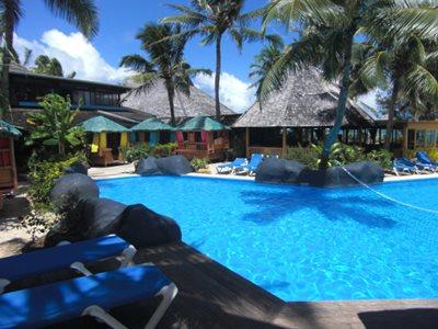 Swimming pool @ Rarotongan Beach Resort