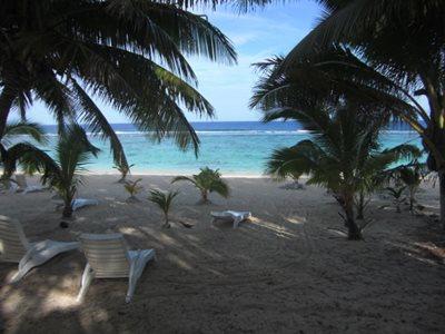 Reef Motel beach