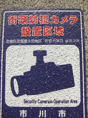Security Camerain Operation Area