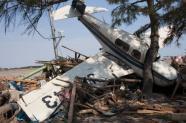 Tsunami-damaged Sendai Airport