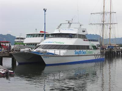 South Sea Cruises high-speed catamaran