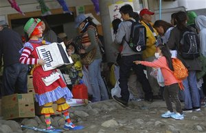 Superheroes Cheer Children In Japan's Tsunami Zone